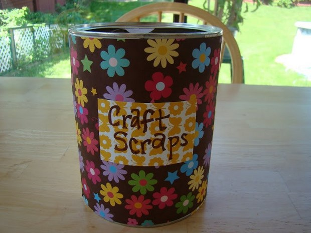 easter crafts tin can flower decorated centerpiece