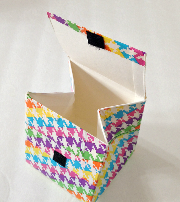 recycle milk cartons diy coin purse sticks colorful wrapped