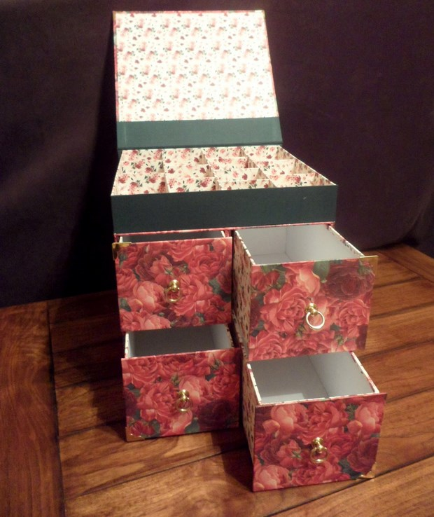 recycle milk cartons mini jewelry box upcycled creative idea
