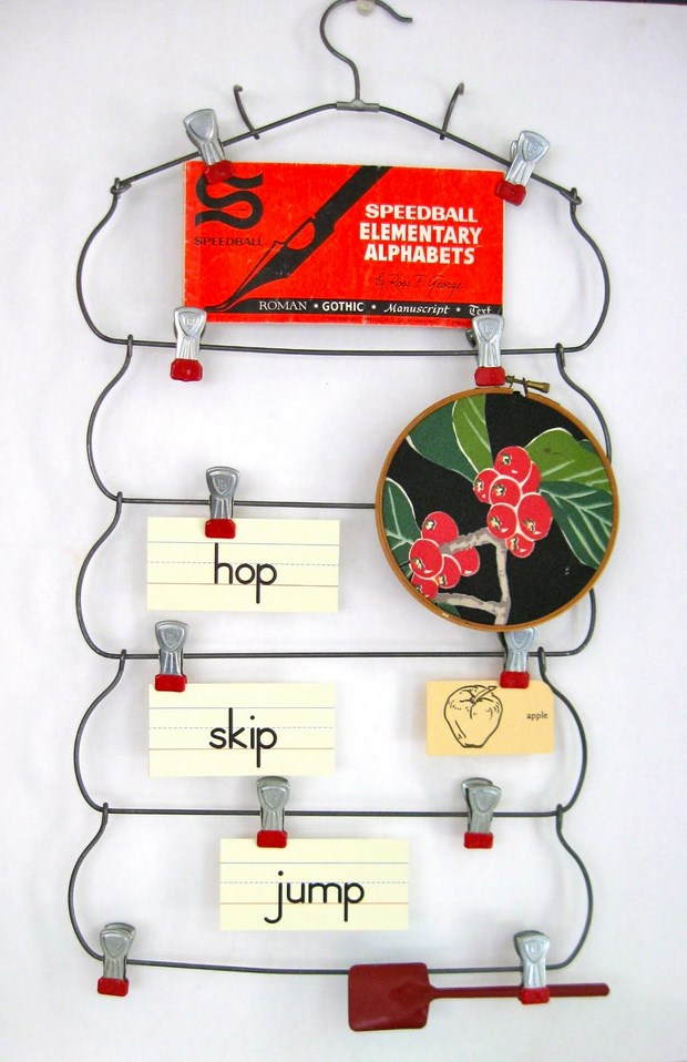 reuse hangers plastic notes holder easy idea